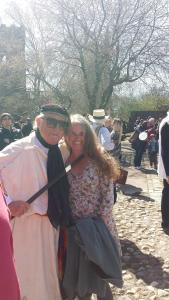 me with the King of Eygpt at Heptonstall
